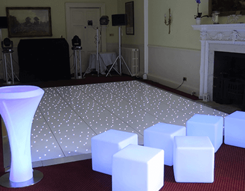 LED Dancefloor Hire Gloucestershire