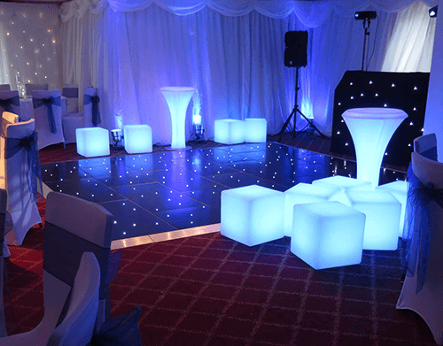 LED Furniture Hire Gloucester