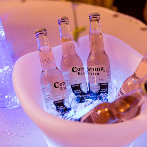 LED Ice Bucket Hire