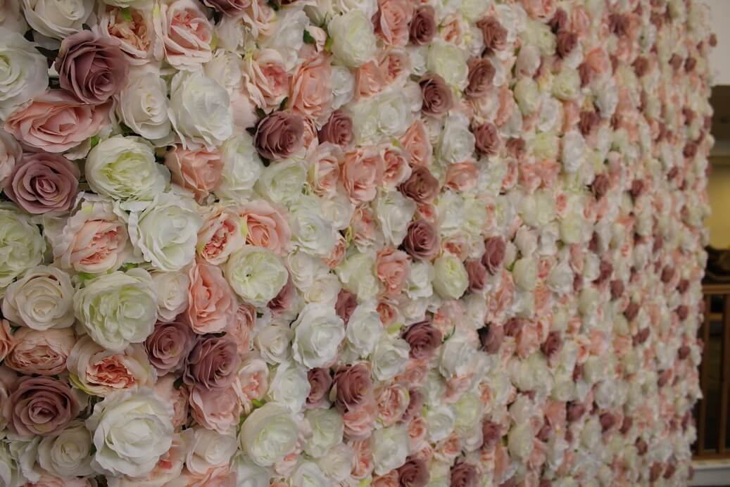 Flower Wall Hire Gloucestershire