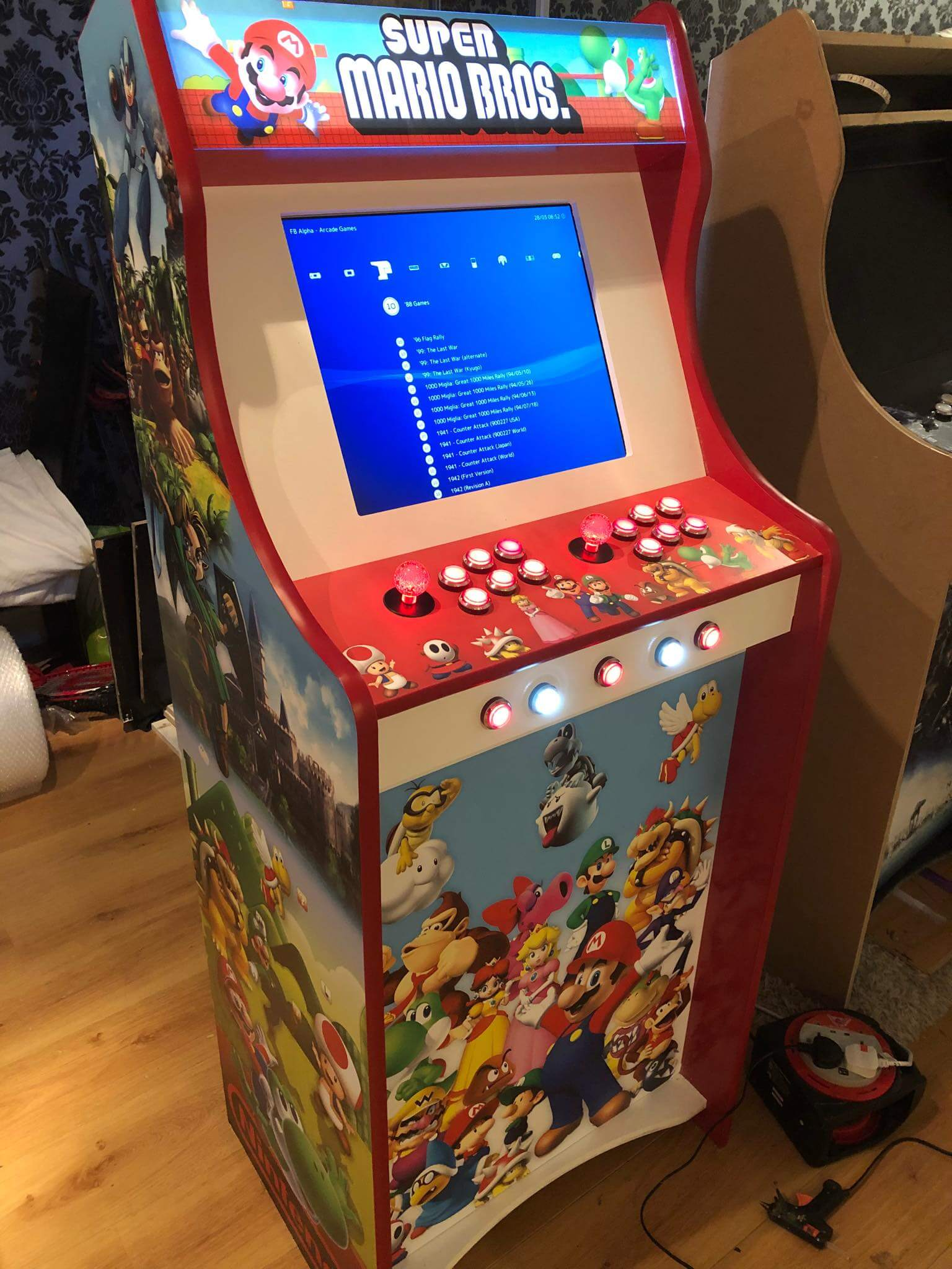 Retro Arcade Machine Hire Gloucestershire