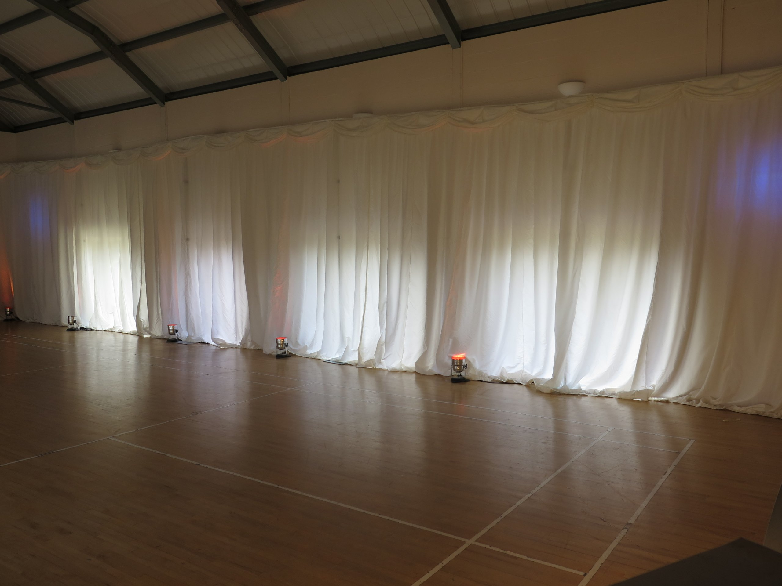 Wedding Draping Hire Herefordshire