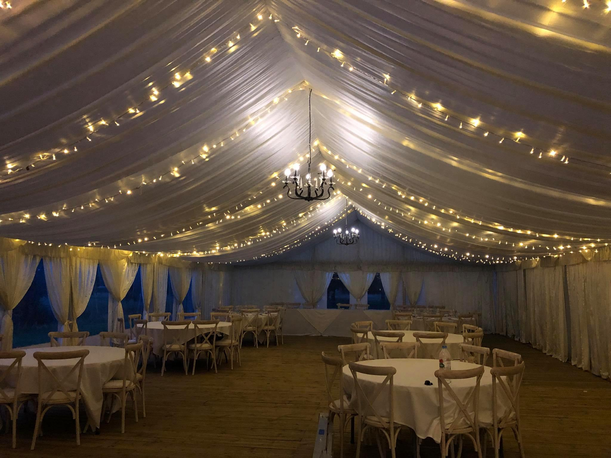 Fairy Light Canopies Gloucestershire