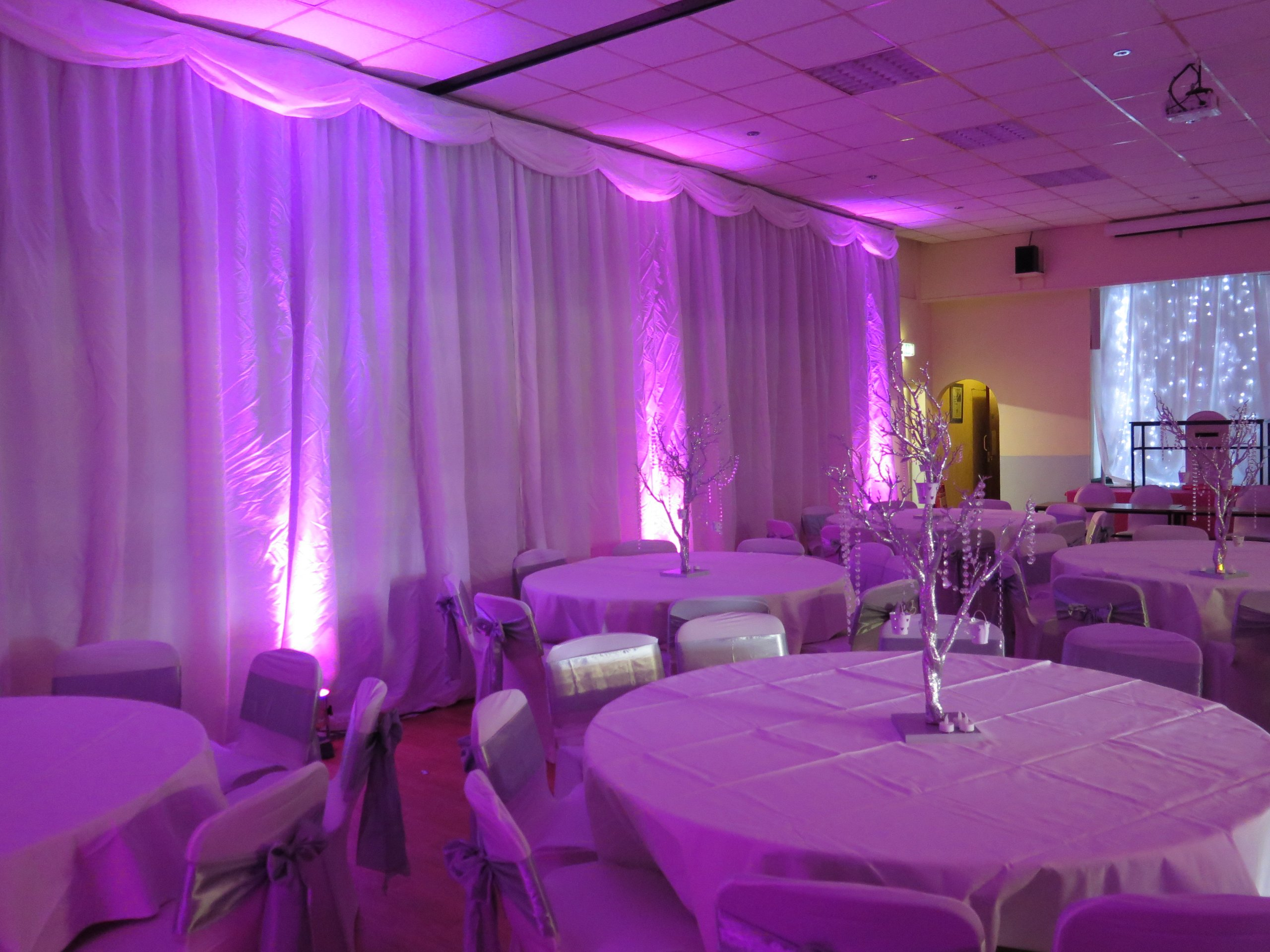 Wedding Draping Hire Oxfordshire