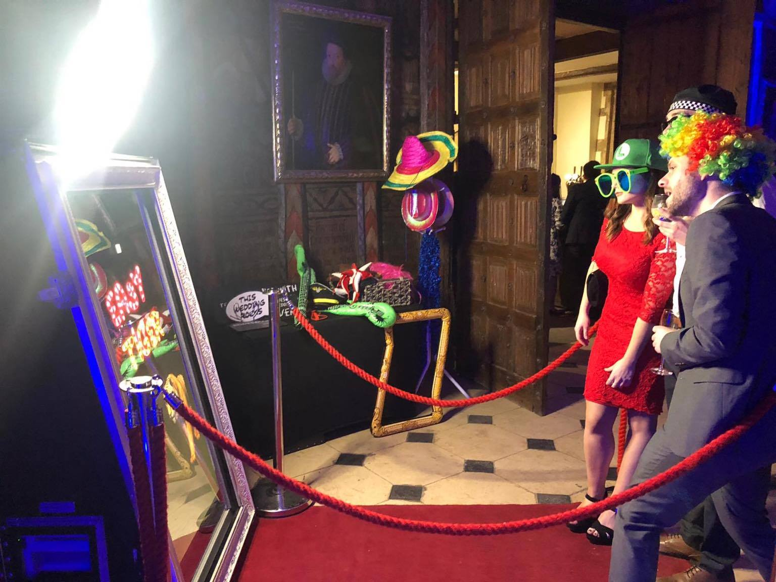 Magic Mirror Photobooth Hire Gloucestershire